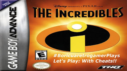 The incredibles gba cheat codes