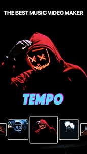 Tempo Premium Apk Music Video Maker with Effects [Unlocked] 2.1.1 1