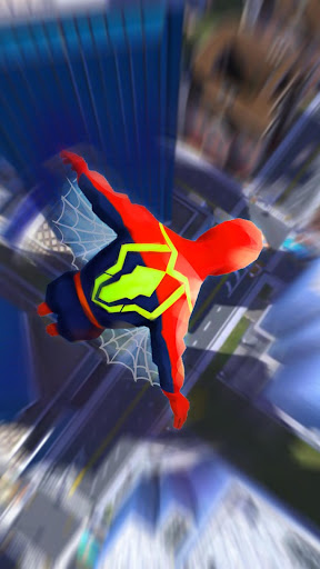 Super Heroes Fly: Sky Dance - Running Game modavailable screenshots 6