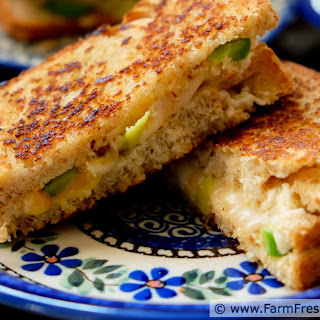 Double Pepper Double Cheese Grilled Cheese