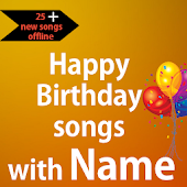Happy Birthday songs with Name offline