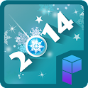 HAPPY 2014 Launcher Theme icon