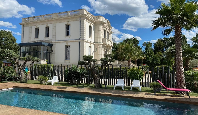 Propriété avec piscine Montpellier