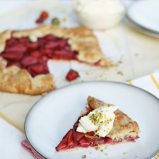 Balsamic Strawberry Crostata