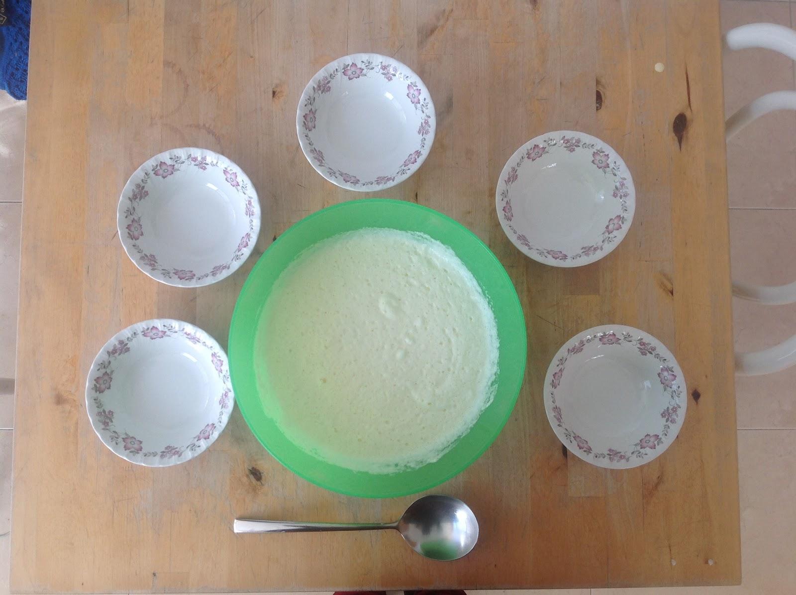 receta de mousse de limón sin azúcar