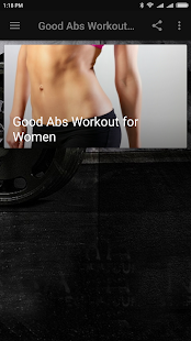 Good Abs Workout for Women - náhled