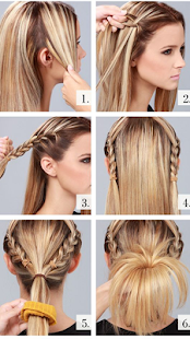 Girls Hairstyles Step By Step Apps Bei Google Play