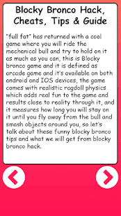 Blocky Man Bronco Guide - náhled