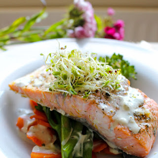 Salmon With Cream Cheese Sauce Recipes
