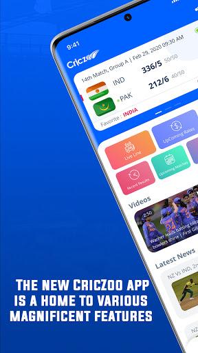 CricZoo - Fastest Cricket Live Line Score & News cheat hacks