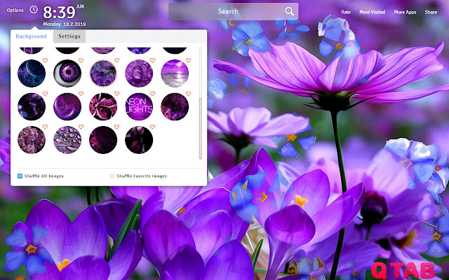 Purple Wallpapers Theme Purple New Tab