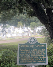Photo: City Cemetary -  Natchez MS
