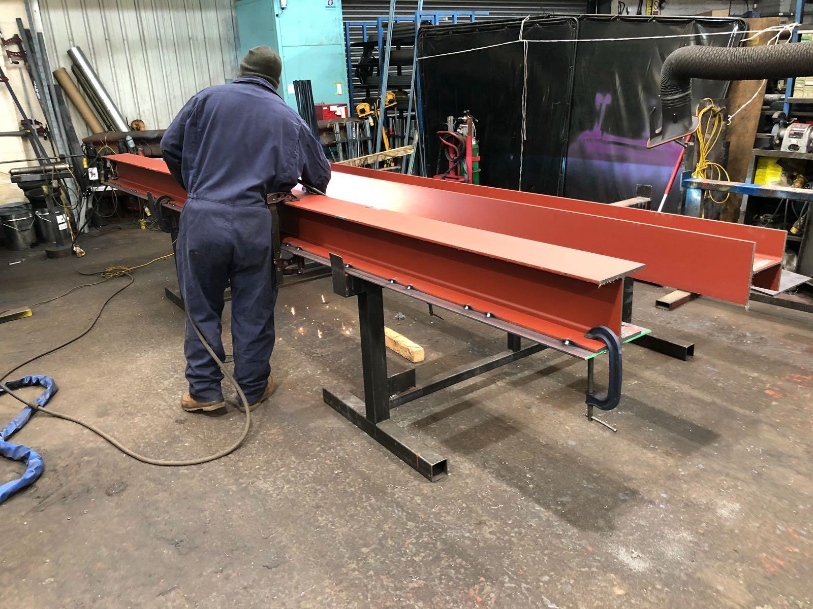 Tamworth Steel Drilling Painting