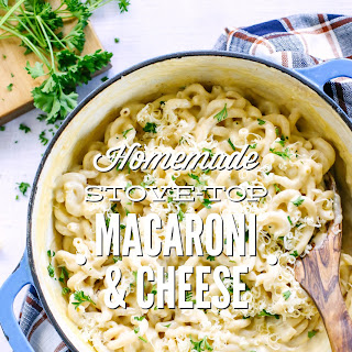 Homemade Stove-Top Macaroni and Cheese