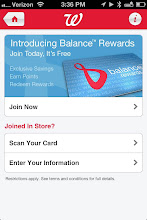 Photo: You can join the Balance Rewards program (for free) through the app, or scan your existing card (which is what I did). So easy!