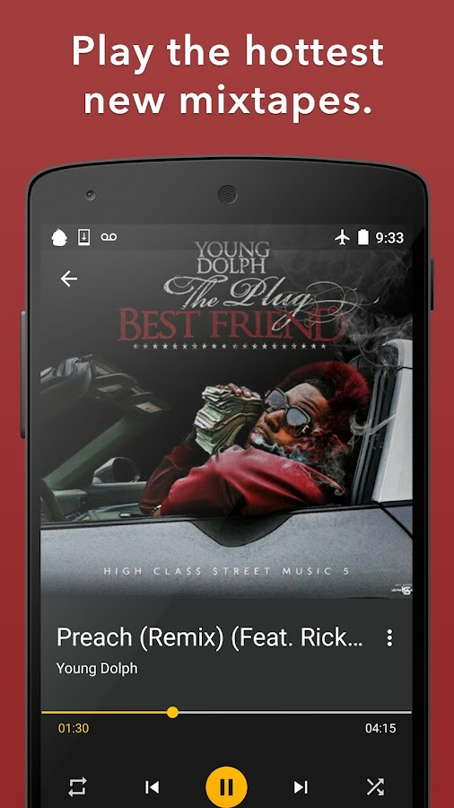 Spinrilla- screenshot