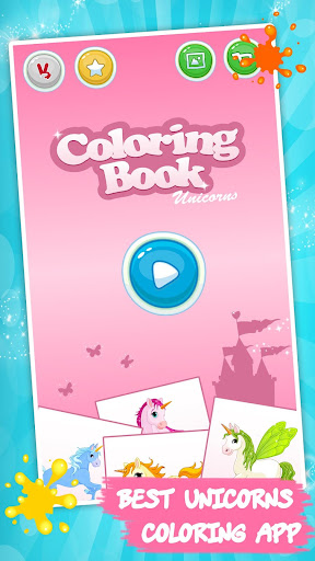 Download unicorn coloring book for kids for pc Coloring book for me apk