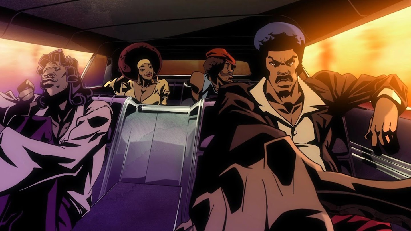 Watch Black Dynamite live