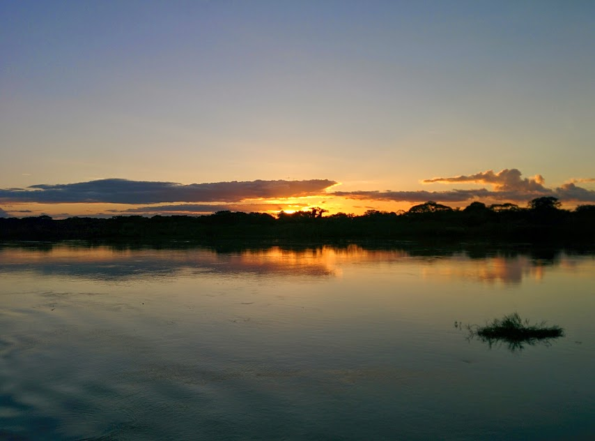 Sunset - Amazon River