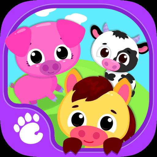 Cute & Tiny Farm Animals - Baby Pet Village app (apk) free download