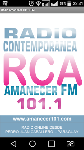 Radio Amanecer 101.1 FM 1.1 screenshots 1