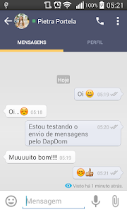 DapDom Messenger screenshot 2