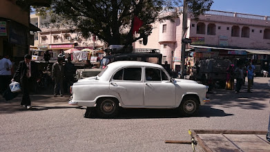 Photo: indian ambassador motorcar from hindustan motors