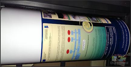 Photo: wydruk posteru A2 - druk od ręki