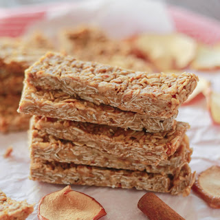 Apple Cinnamon Granola Bars.