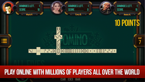 Domino - Dominoes online. Play free Dominos!  gameplay | by HackJr.Pw 1