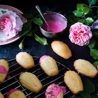 Rose flavoured Madeleines.