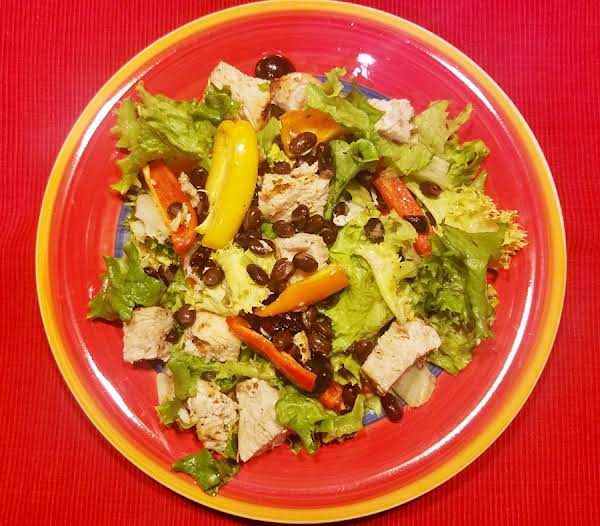 Healthy Lemon Chicken Salad Is A Low Fat, Low Cholesterol, Simple And Healthy Meal Idea!  Done Is Just 20 Minutes, It Is Perfect For Those Busy Weeknights!