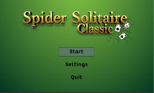 Spider Solitaire Classic 2.5.3 screenshots 5