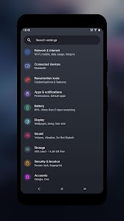 Gravija Substratum Theme Screenshot