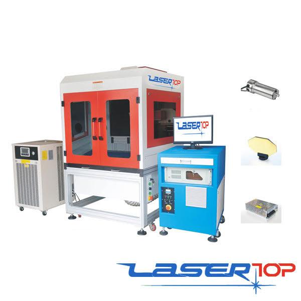 máy khắc laser trên vải bò