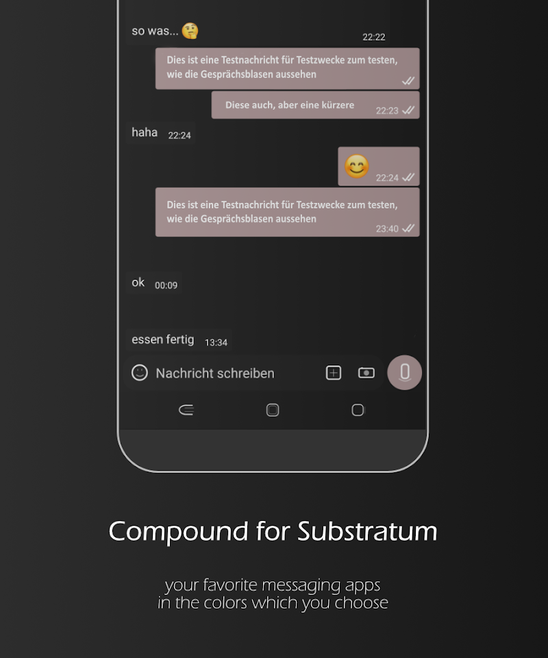 Compound for Substratum (Android Oreo/Nougat) Screenshot 2