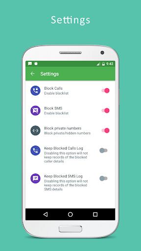 Call Blocker - Blacklist, SMS Blocker screenshot 5