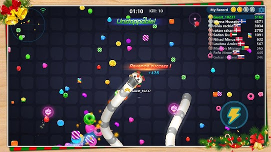 Snake Candy.IO – Multiplayer Snake Slither Game 1