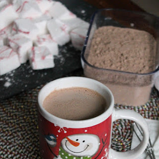 Homemade Malted Hot Chocolate Mix