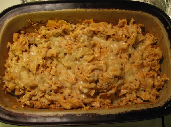 Double Cheese Hamburger Casserole