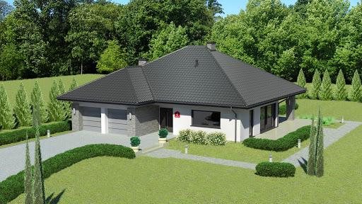 projekt Dom przy Kwiatowej 4 bis