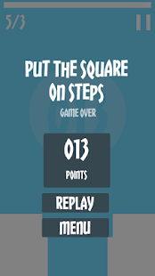 Put The Square On Steps- screenshot thumbnail