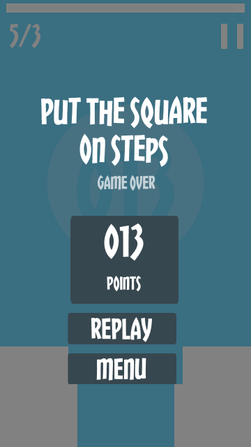 Put The Square On Steps- screenshot