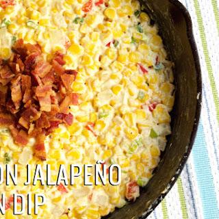 Bacon Jalapeno Corn Dip.