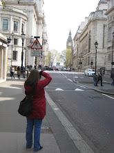 Photo: Shauna photographing Big Ben