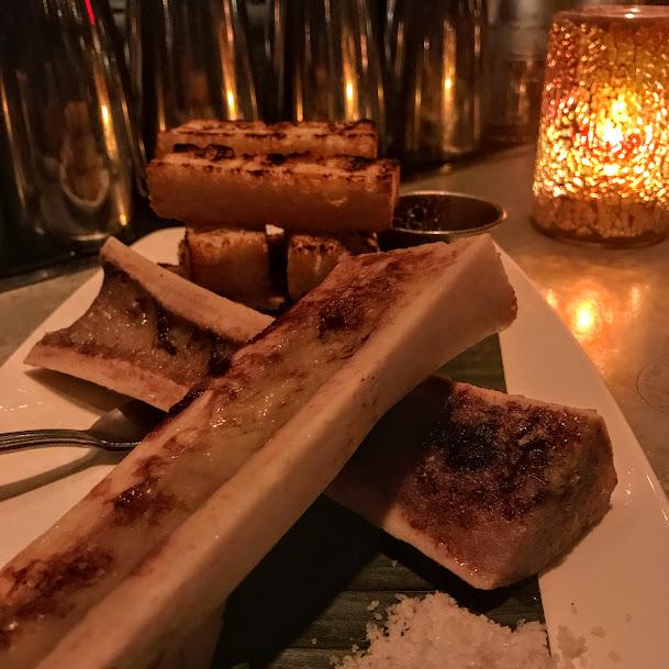 Roasted bone marrow, Beauty & Essex