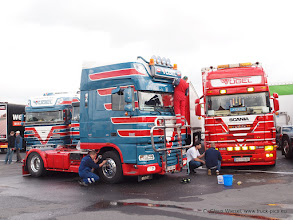 Photo: Ihre Frauen wären stolz auf sie...  Geiselwind Pfingsten 2013 ---> www.truck-pics.eu