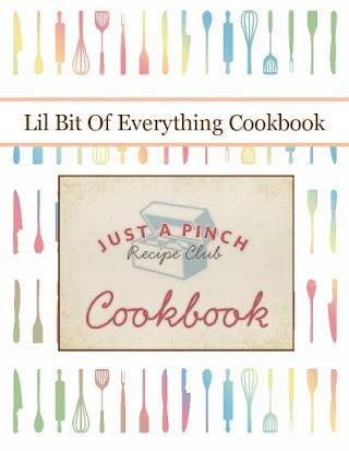 Lil Bit Of Everything  Cookbook