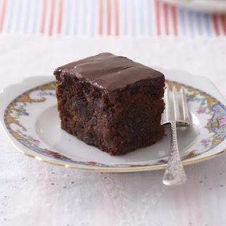 Chocolate Apple Cake.