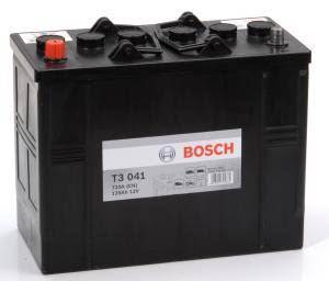 Bosch 12V 125Ah T3041 - Startbatteri